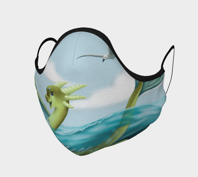 Cheerful Sea Monster Mask