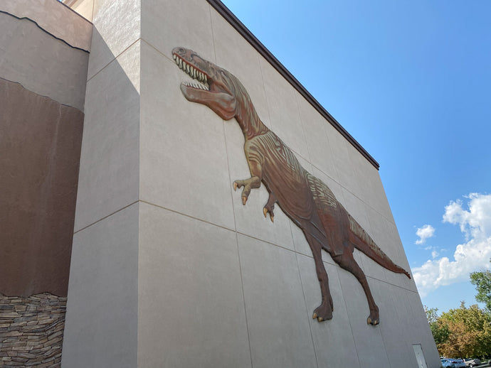Largest display of dinosaurs in the world at the Museum of Ancient Life!