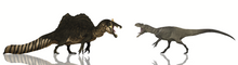 Load image into Gallery viewer, Crate - Ultimate <i>Spinosaurus</i> Versus <i>Allosaurus</i>