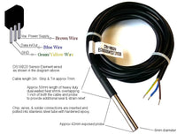 1WT_8SSP_3_RGD_3m_3w: Heavy Duty 1-Wire Temperature sensor rated for Automotive use.