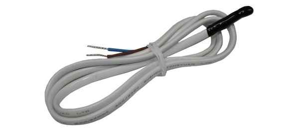 1WT_INL_POT_1m_2w: Inline potted 1-wire temperature sensor with 1m long, 2-wire cable