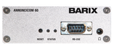 Barix Annuncicom-60:  POE-enabled IP-Audio Encoder/Decoder