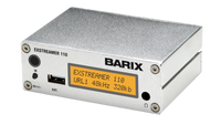 Barix Exstreamer-110:  IP-Audio Decoder with LCD Display and USB