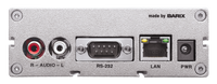 Barix B-Stock Exstreamer-110:  IP-Audio Decoder with LCD Display and USB