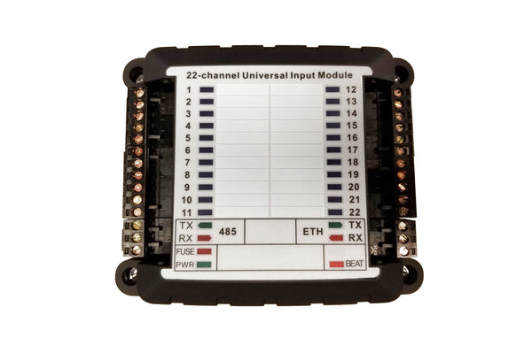 MBus_Ai22_ETH: 22-Channel Universal Input Module with Ethernet & RS485