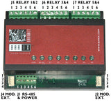 Barix R6: Modbus-RTU 6-Channel high-amp relay output module