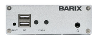 Barix Instreamer-ICE: IP-Audio Encoder with AAC+ and built-in Icecast Server.