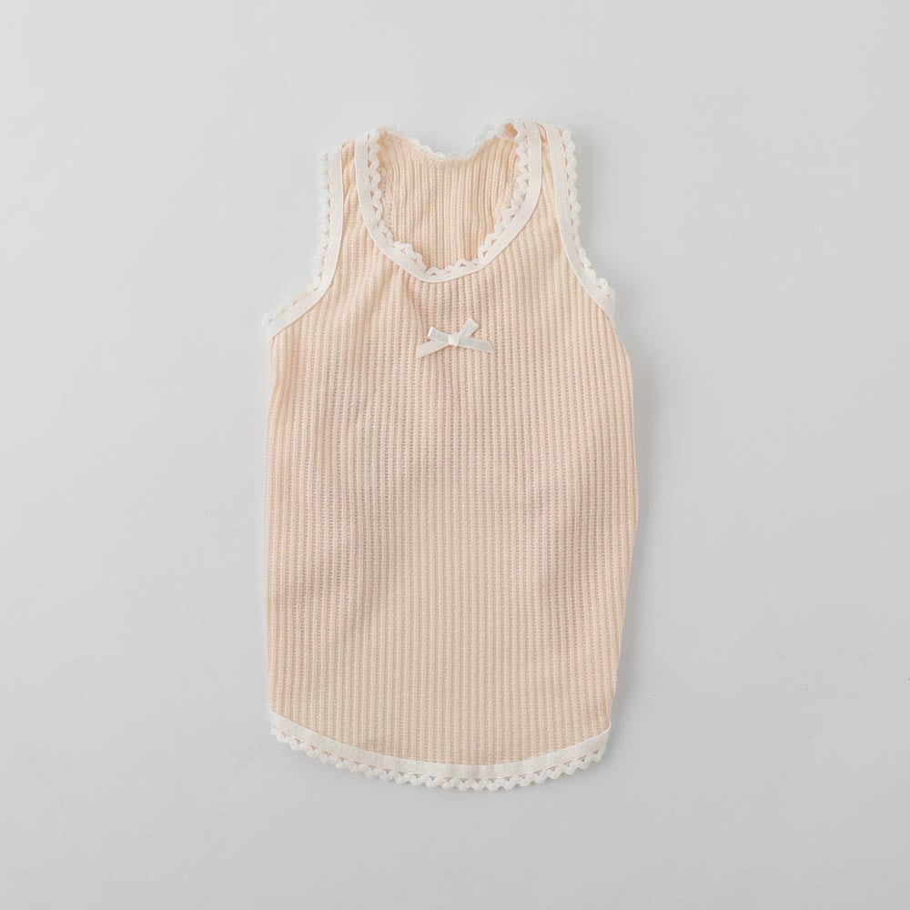 Lace Tape Ribbon Tank Top