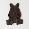 Sweatwood button overalls