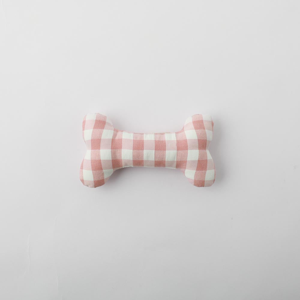 Gingham check bone