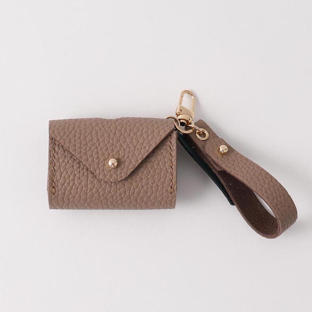 Strap leather manner porch