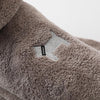 Hooded pet bathrobe bath towel