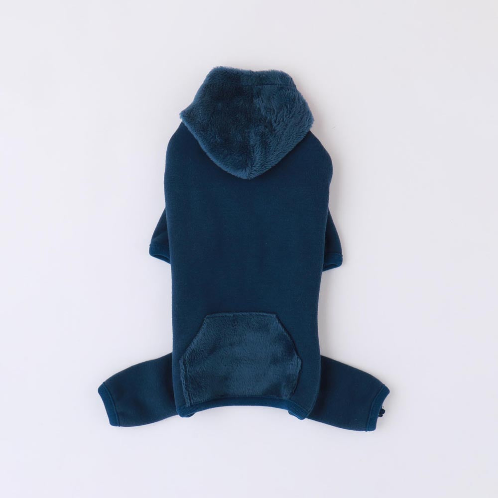 Fleece hooded sweat