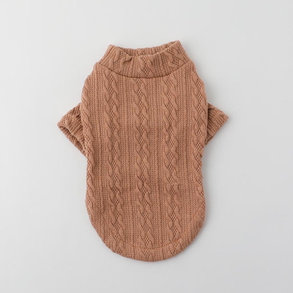 Pattern knitted saw tops