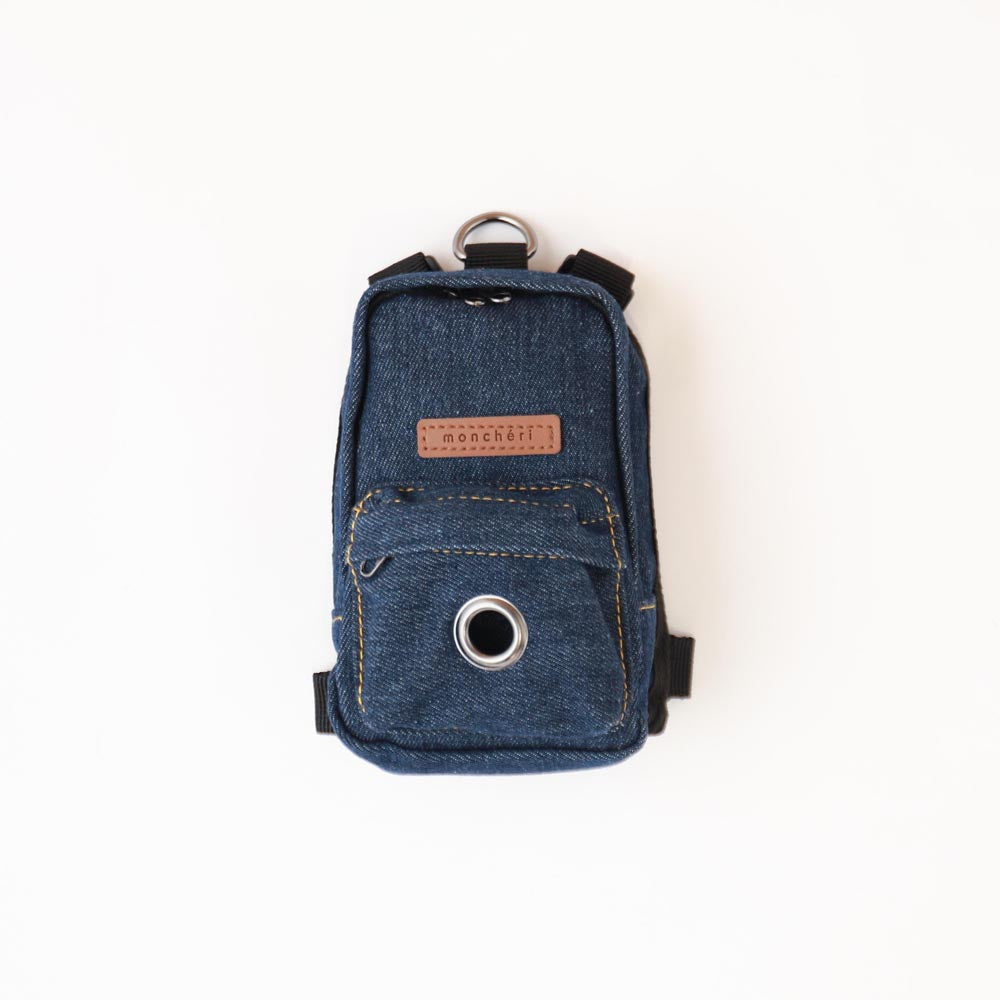 Denim Backpack Harness