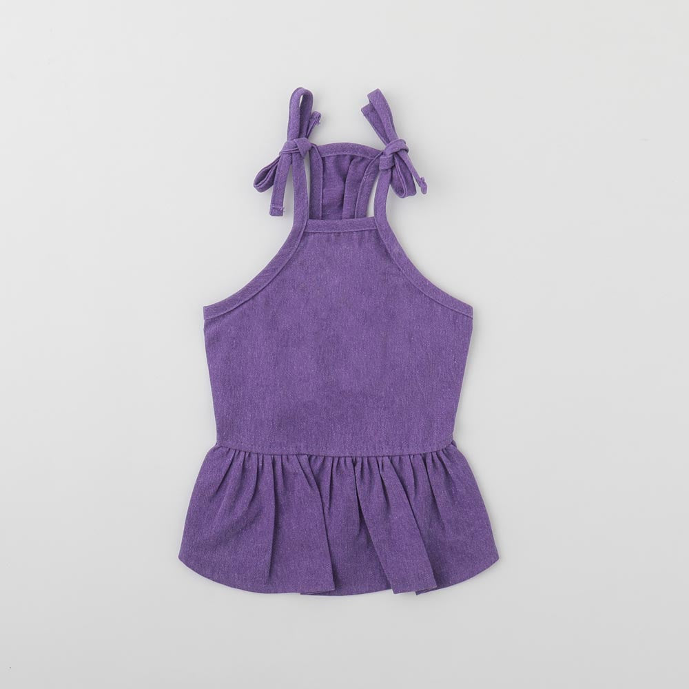 Shoulder Ribbon Camisole Dress