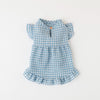 Gingham Check Frill One Piece