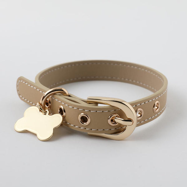 Bone charm leather color MEDIUM