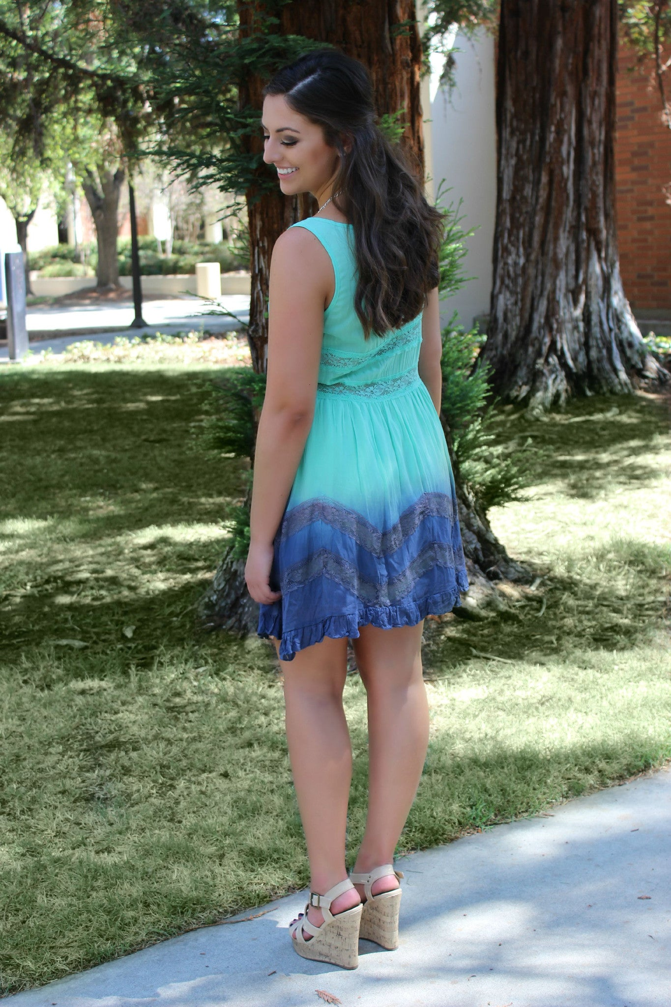 Spin the Globe Dress - Leah B. Boutique