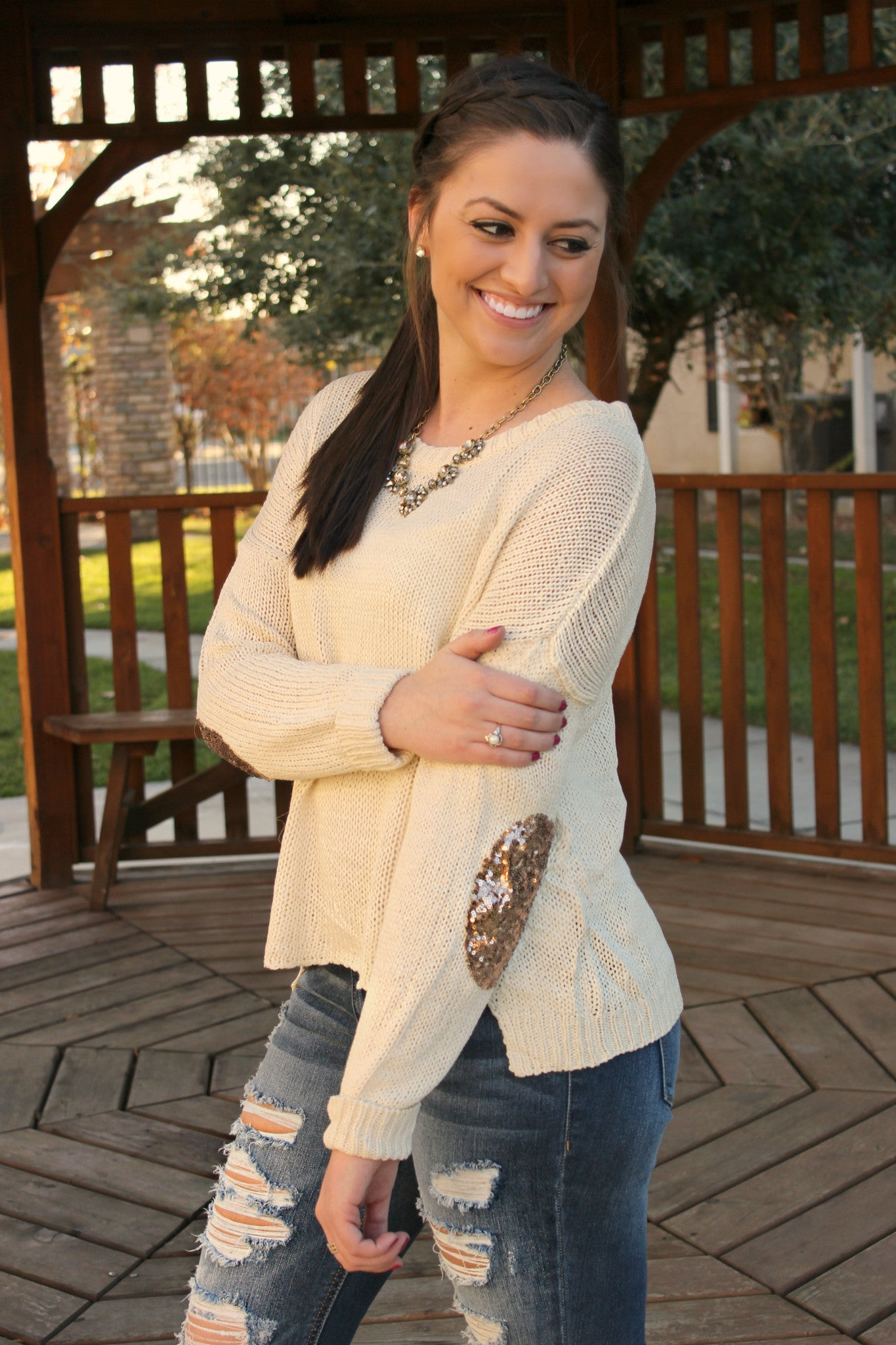 All That Glitters Sweater - Leah B. Boutique