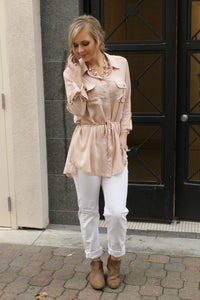 Crazy In Love Blouse - Leah B. Boutique