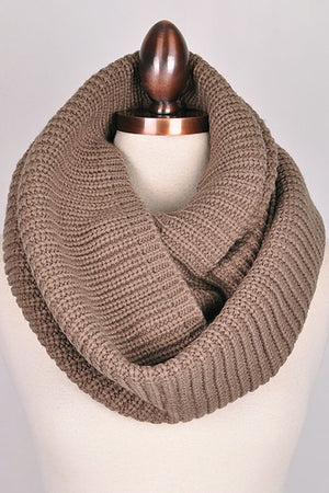 Main Street Scarf in Mocha - Leah B. Boutique