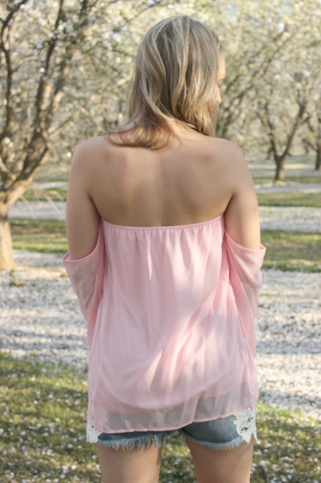 Soft as a Petal Blouse - Leah B. Boutique
