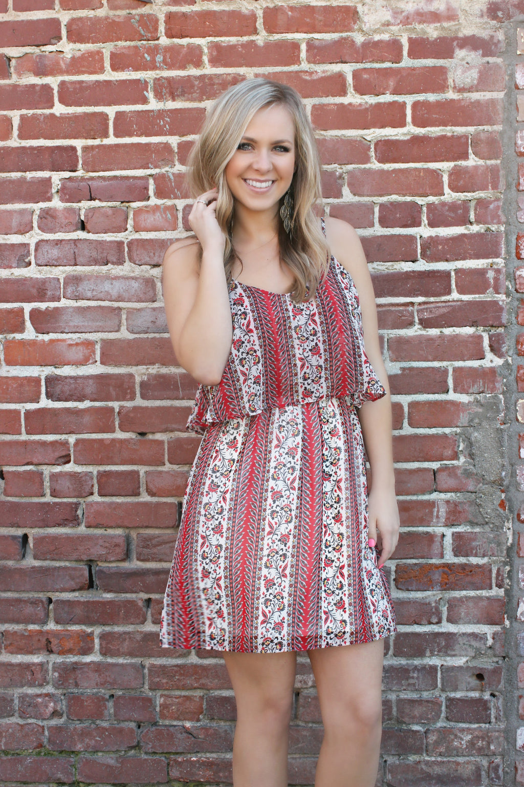 Early April Dress - Leah B. Boutique