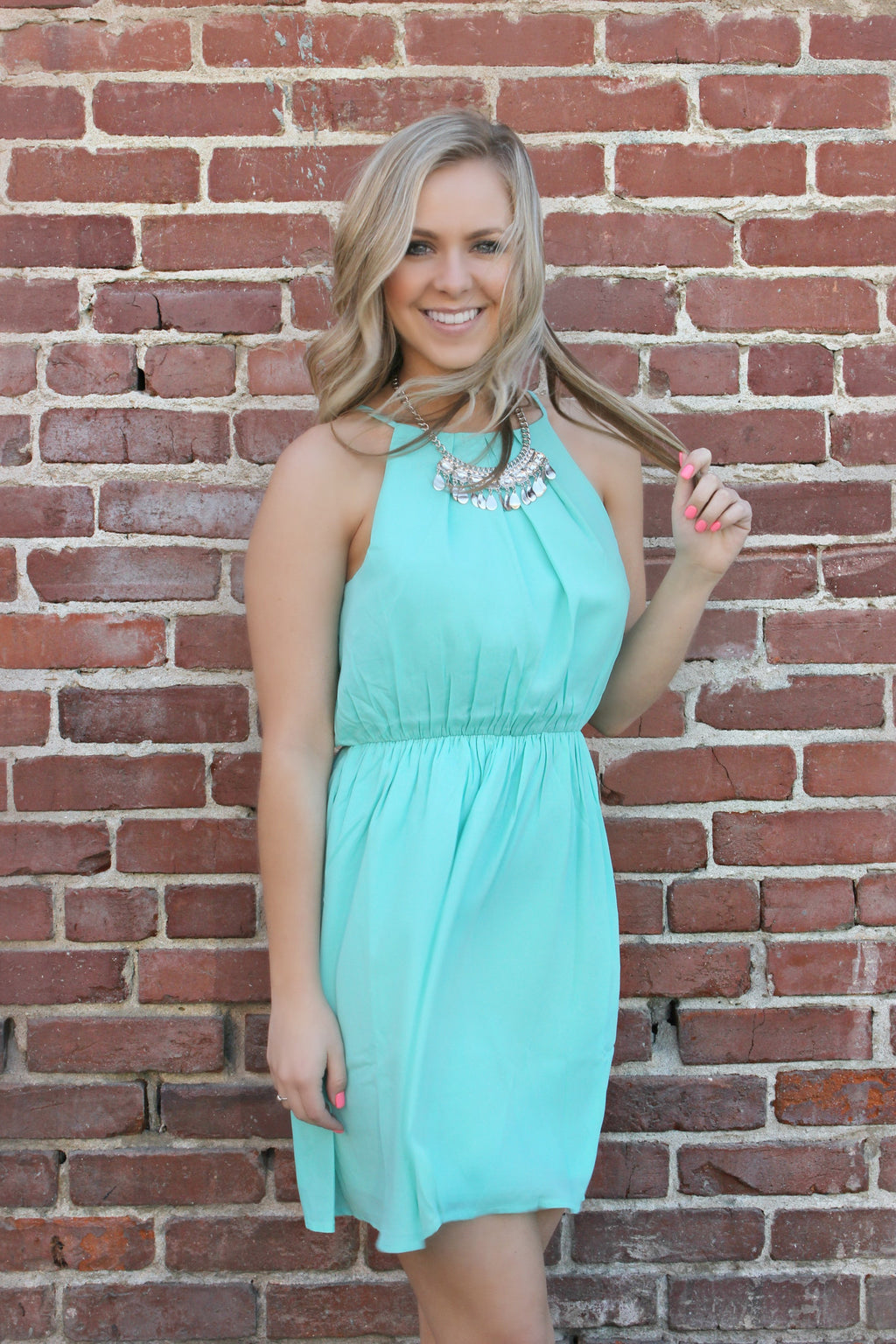 Champagne For Two Dress - Leah B. Boutique