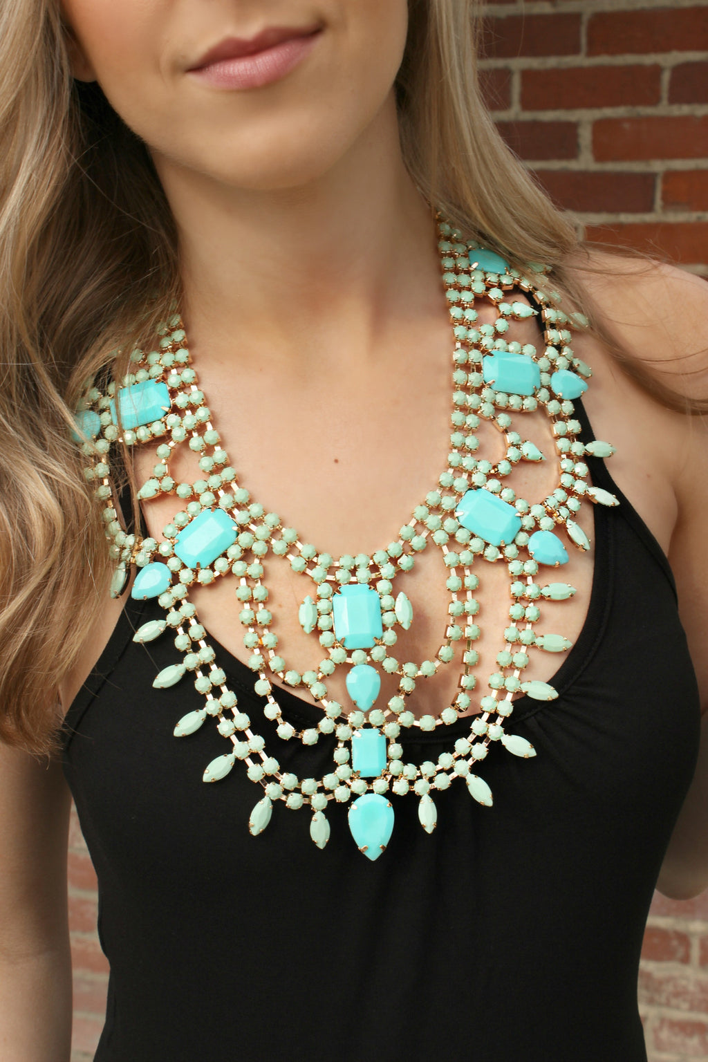 Take A Look Around Necklace - Leah B. Boutique