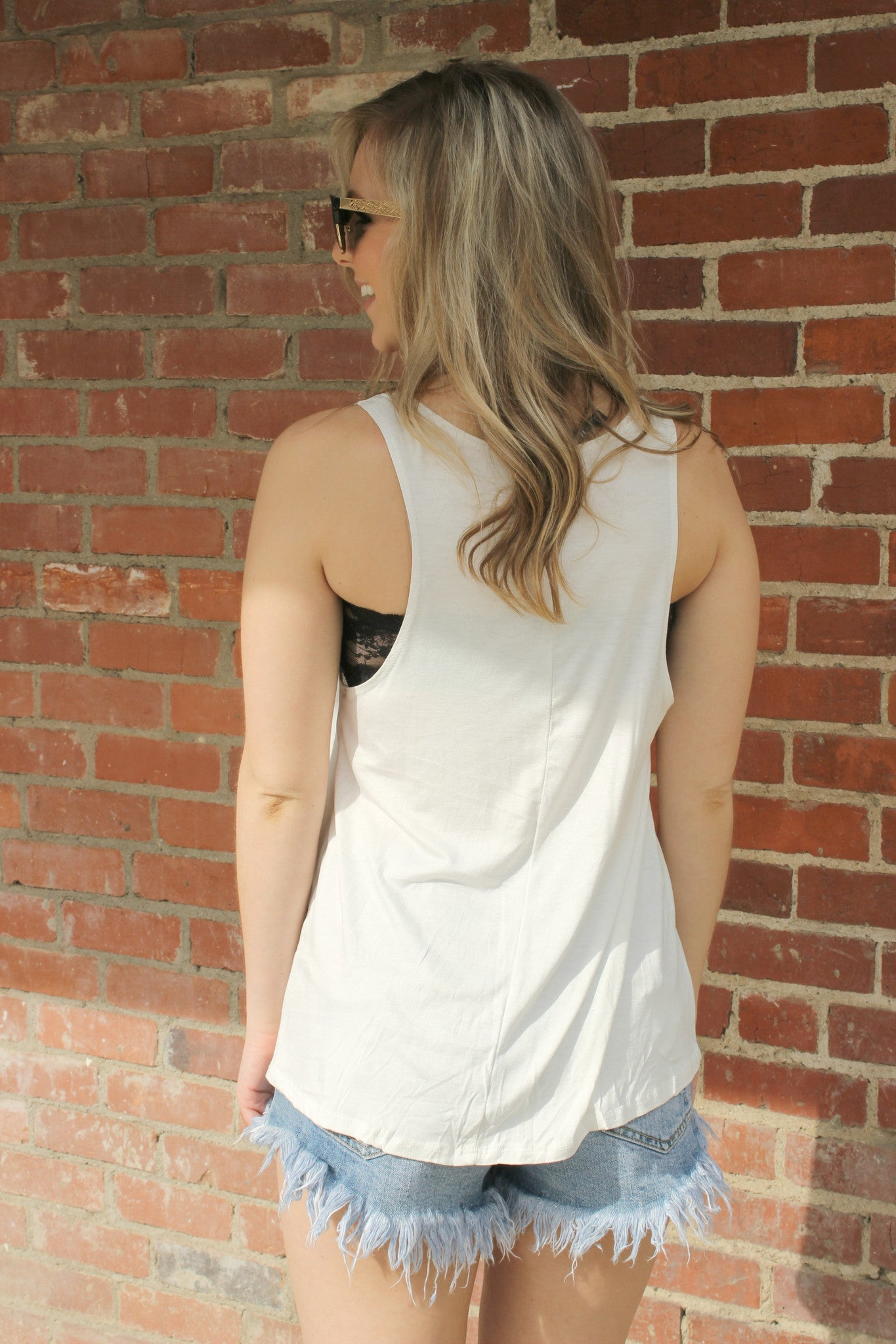 Boat Hair, Don't Care Tee - Leah B. Boutique
