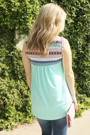On The Edge Blouse - Leah B. Boutique