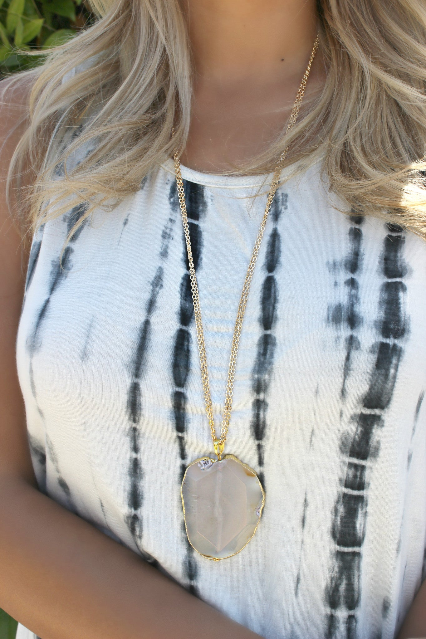 Clear Waters Necklace - Leah B. Boutique