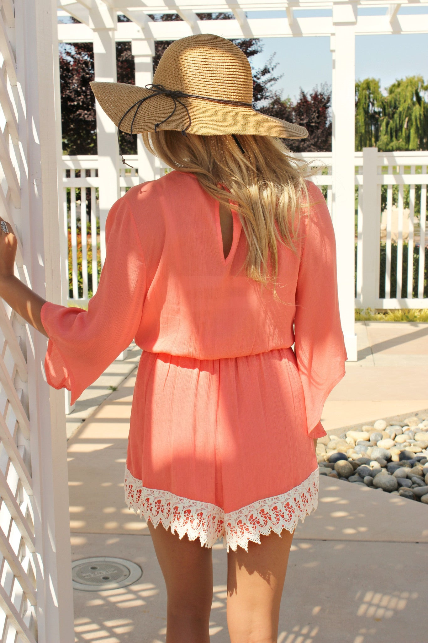 Cabana Call Romper - Leah B. Boutique