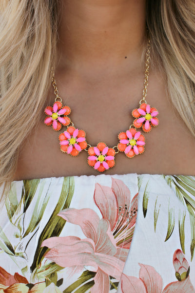 Tequila Sunrise Necklace