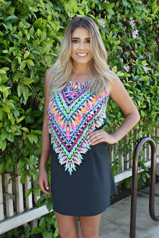 Sunset Bonfire Dress