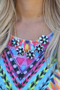 Rolling Tides Necklace - Leah B. Boutique