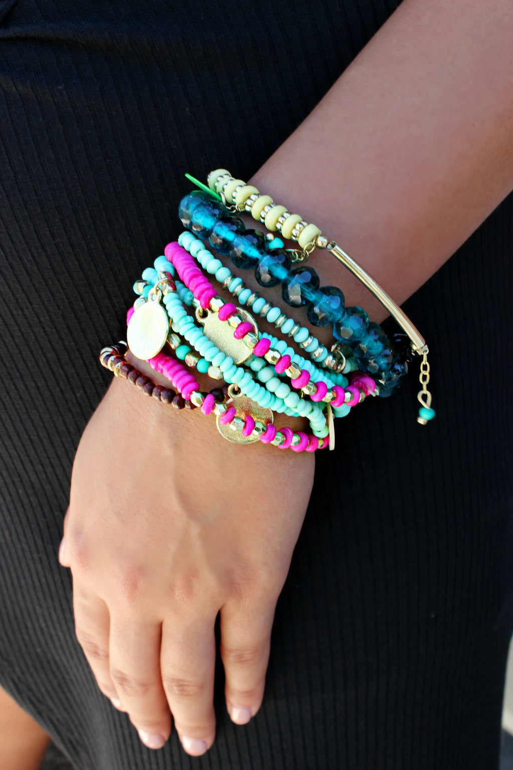 Beach Comber Bracelet Set - Leah B. Boutique