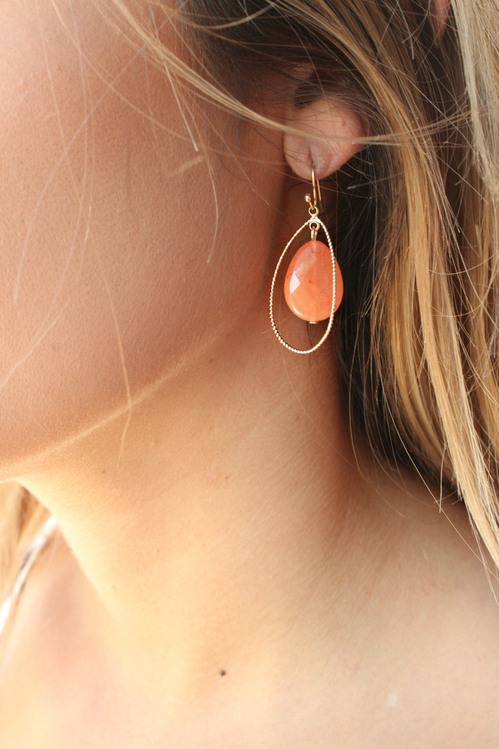 Splash of Citrus Earrings - Leah B. Boutique