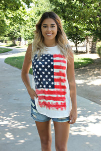 Old Glory Tee - Leah B. Boutique