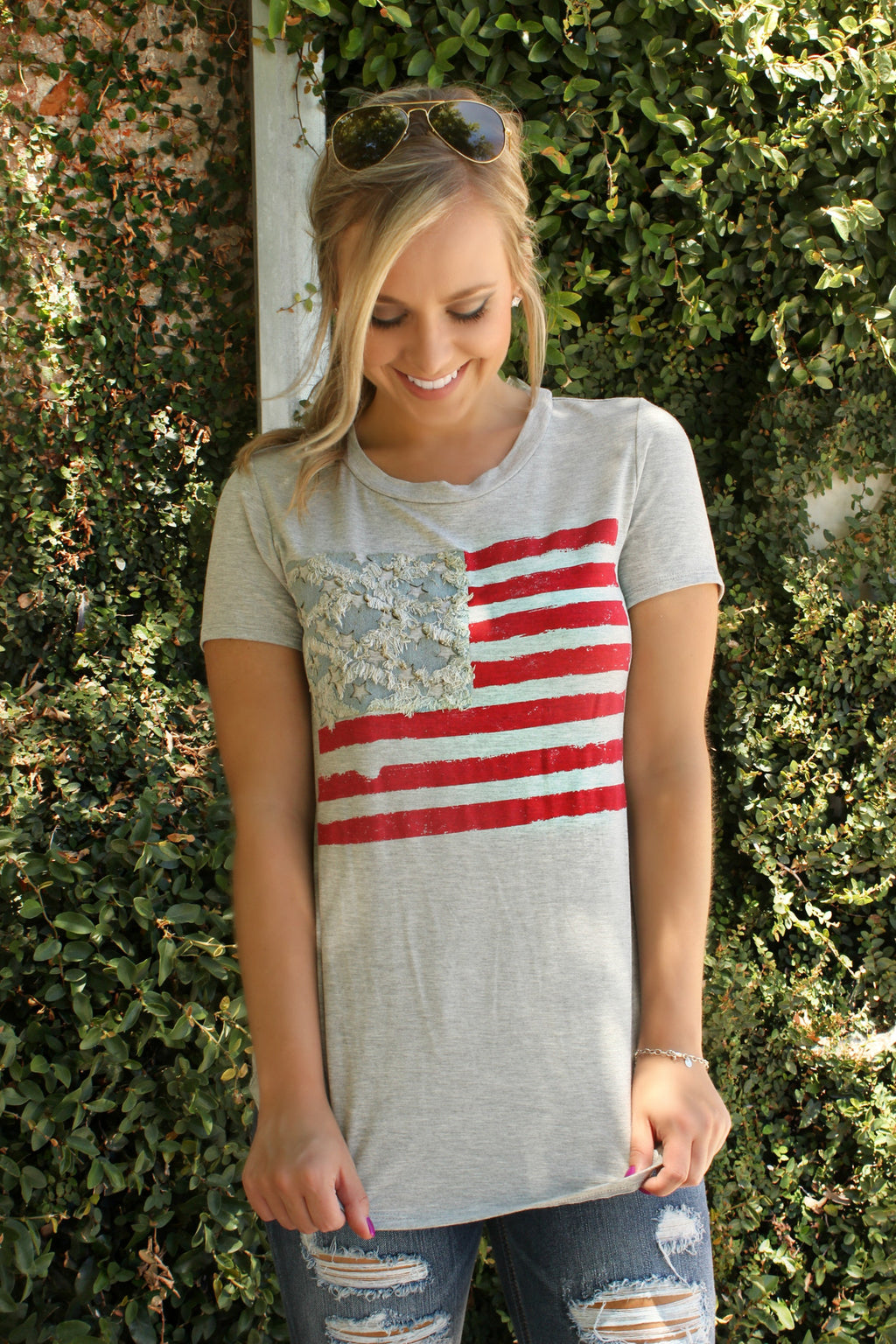 American Summer Blouse - Leah B. Boutique