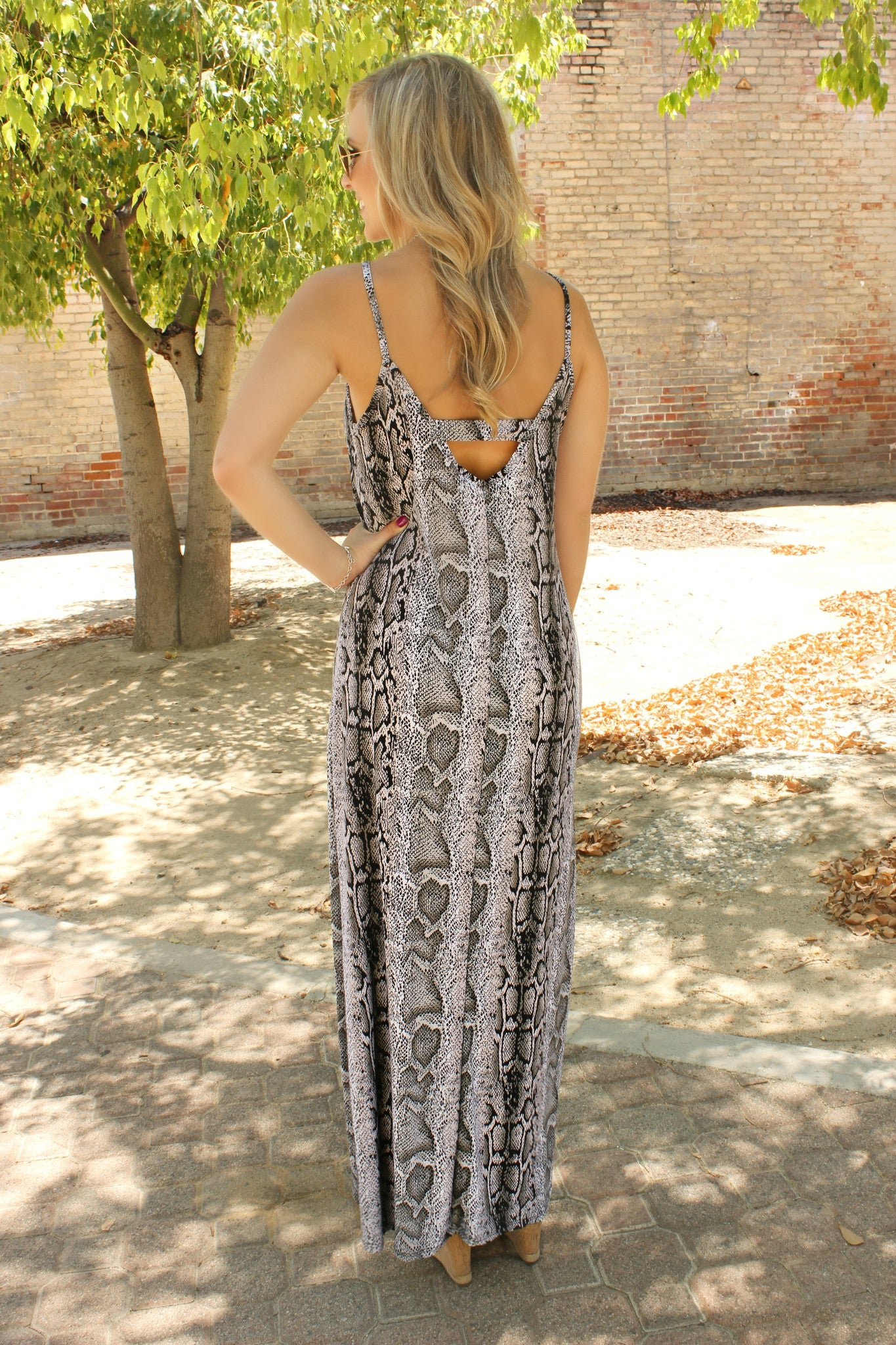 Woman of Mystery Dress - Leah B. Boutique