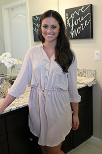 Cut From the Cloth Dress - Leah B. Boutique
