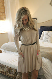 Iced Mocha Dress - Leah B. Boutique