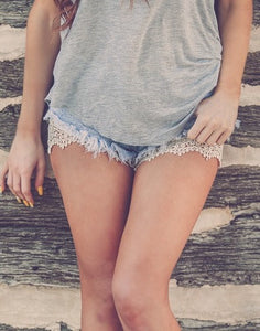 Lace Short Extenders - Leah B. Boutique