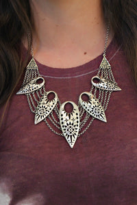 On The Edge Necklace - Leah B. Boutique