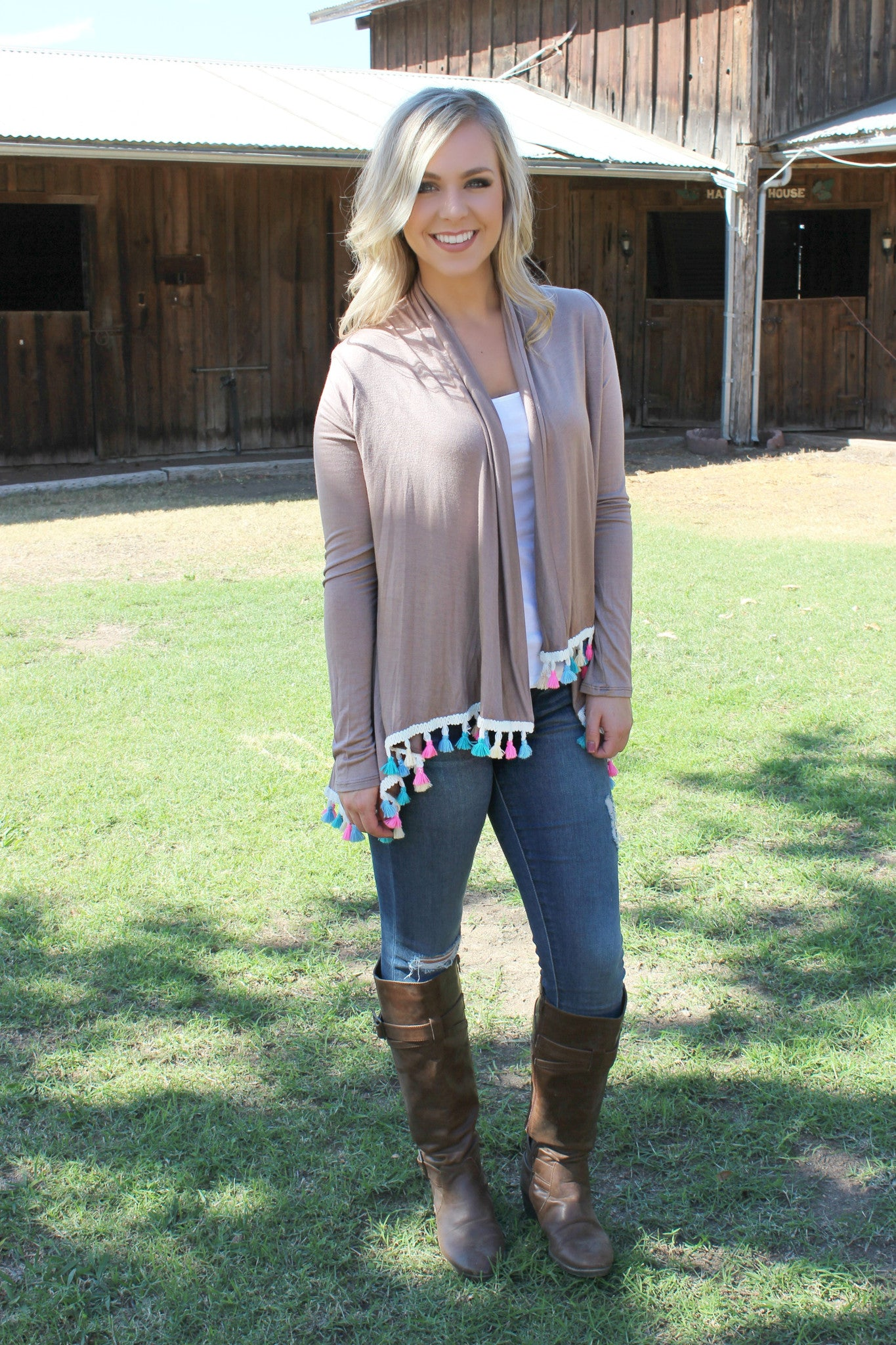 Colors of the Wind Cardigan - Leah B. Boutique