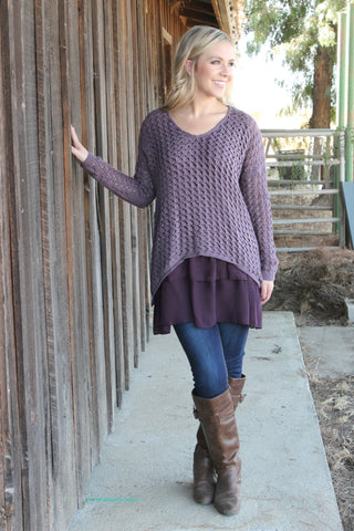 Lady of Mystery Sweater