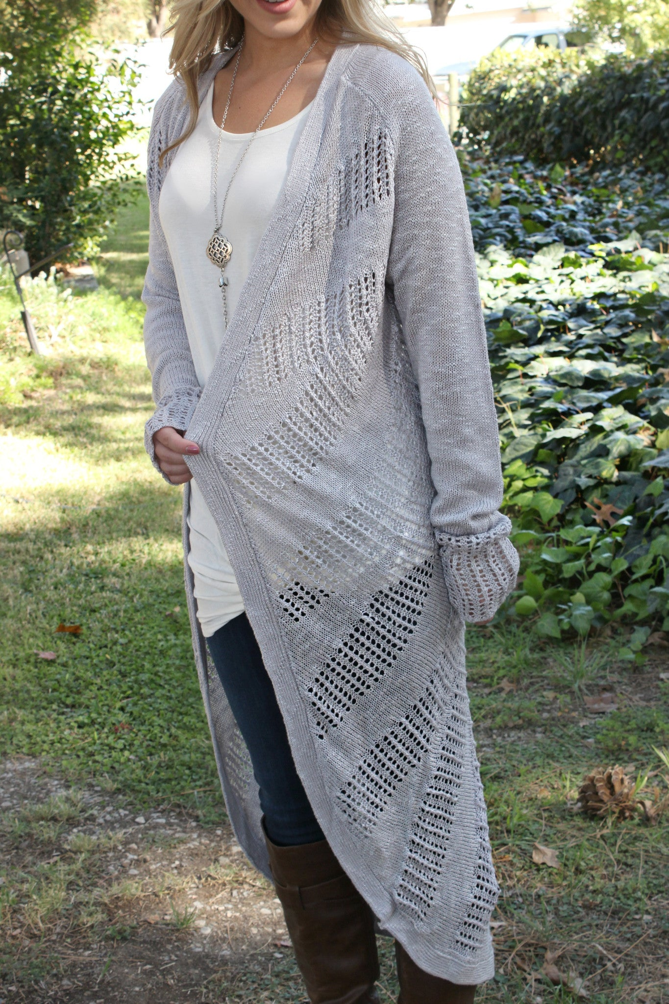 First Rain Cardigan - Leah B. Boutique