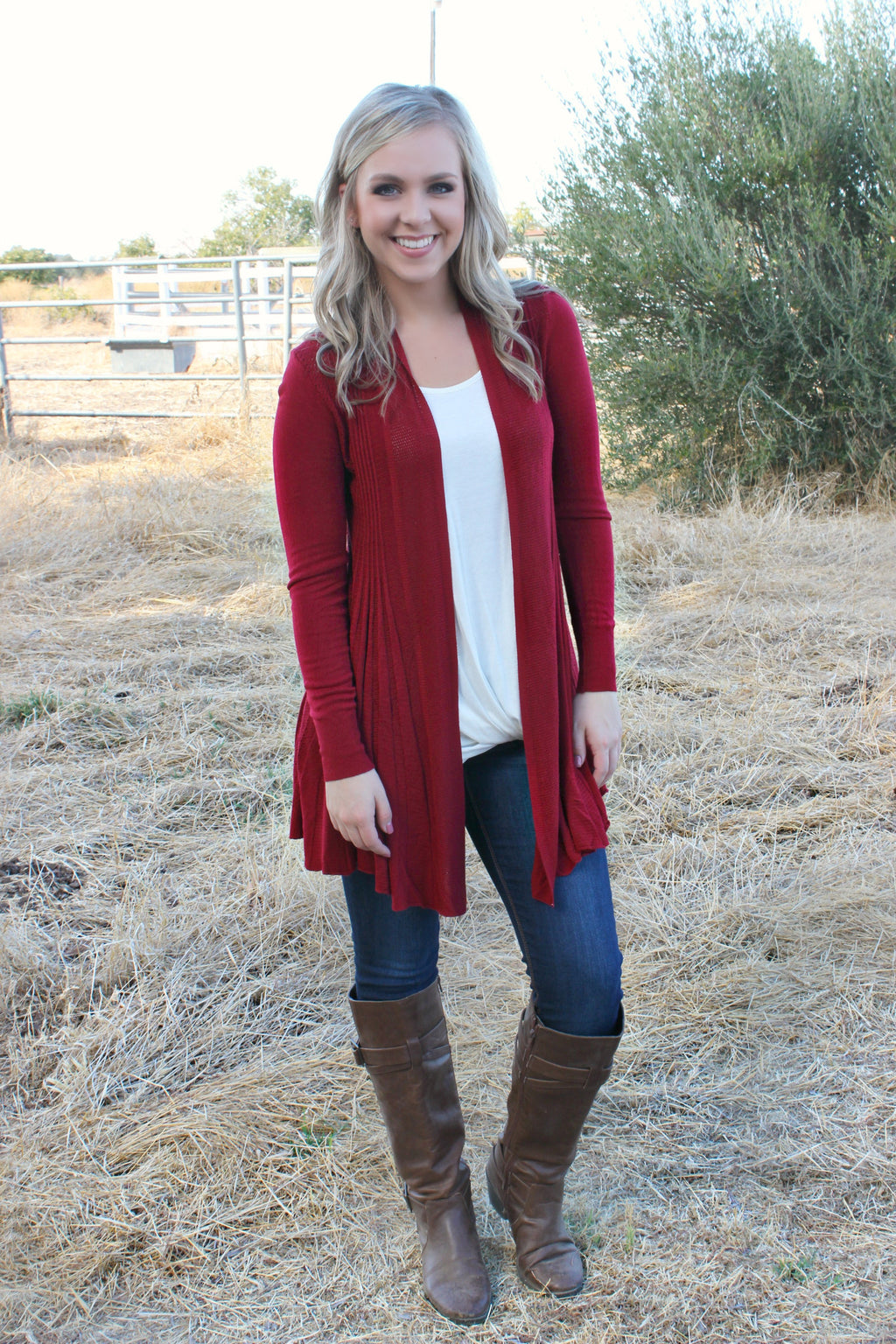 Beneath the Maple Cardigan - Leah B. Boutique